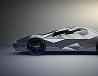 POLY-FX 3D Concept car