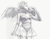 Adobe Sketch Apple Pencil & Me
