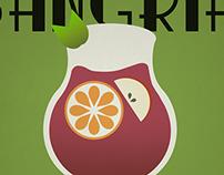 Sangria Vintage Poster
