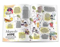 Mapa do Hype - Centro de São Paulo
