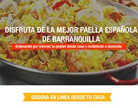 Sabina Paella Casa cultural española - Barranquilla