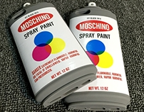Coque Moschino iPhone 6s 6s plus spray paint silicone i