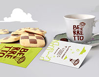 Logo Branding Berretto Coffee