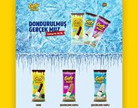 Gefy Banana One Page Web