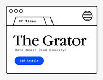The Grator: Critical News Community