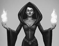 Dark Priestess Concept