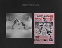 Sfida Bestiale   La Gazzetta dello Sport   Artwork