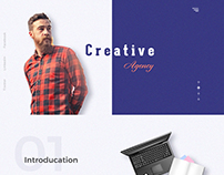 creative agency web tamplate