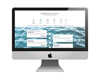 Website concept - Villa Méditerranée