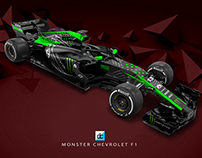Monster Chevrolet F1 - Concept Team (Late Braking)