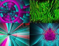 Circular Rays - VJ Loop Pack (4in1)
