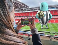 EE: Wembley 5G AR Foosball