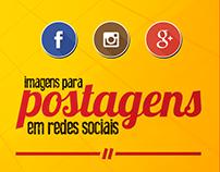 Postagens para Redes Sociais