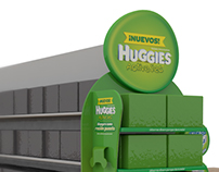POP - Huggies Active Sec