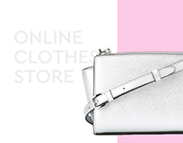 Website design for online clothes store