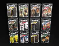 Star Wars Kenner Style Carded Toys | www.squatties.com