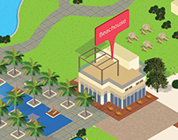 Resort Isometric map