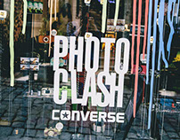 Photo clash-Converse-Galata Lomography Store/Istanbul