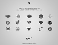 Nike x Hip-Hop Artists - Rebrand for 15 NBA Teams