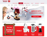 Tefal The Pancake Factory 2016 Site