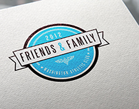 Washington Athletic Club - Friends & Family Logo