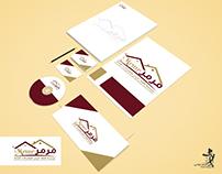 مؤسسة قلعة المرمر للمقاولات العامة Logo branding