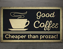 Good Coffee is...