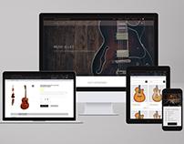 Internet shop of musical instruments