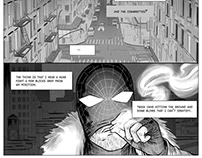 RIOT 10 pages short story (Script and art by myself)