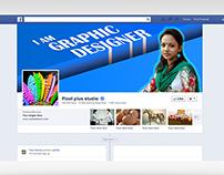 Facebook personal timeline cover page v-1.0