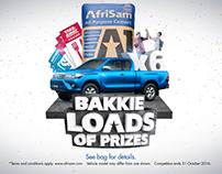 Afrisam Win a Bakkie