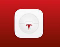 Tesla dashboard — Redesign concept (Big Hero 6 theme)