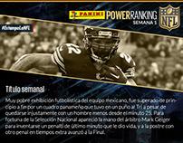 Power Ranking NFL 2015