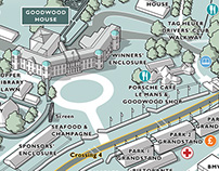 Goodwood Festival of Speed event map