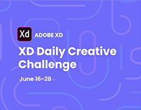 Adobe XD Daily Creative Challenge Livestream June 17-28