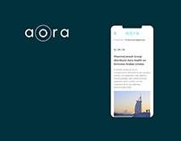 Aora Health - Web Design