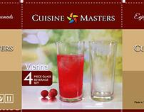 Packaging Design Cuisine Masters - Vienna