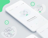Walkthrough I travel app I App Designer I creative
