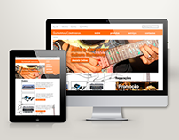 Website Guitarras&Companhia