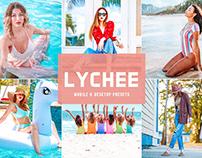 Free Lychee Mobile & Desktop Lightroom Presets