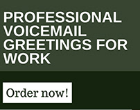 Professional voicemail pictures on behance best business voicemail greetings help m4hsunfo