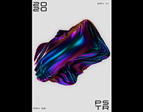Free 3D Poster Design Tutorial