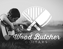 Wood Butchers Guitars Identity Design