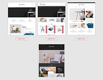 Vonia - Furniture Bootstrap Template