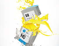 HP Ink - Anticounterfiet Campaign Posters