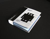 Typographic Anatomy Book; Helvetica