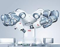 A YuMi robot