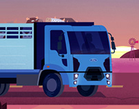FORD CARGO | animated spot
