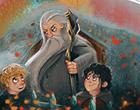 Lord Of The Rings | Book Illustrations