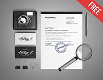 Business Stationery v2 – 3 Free PSD Mockups